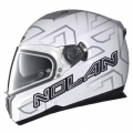 Nolan N86 Ghost Metal White